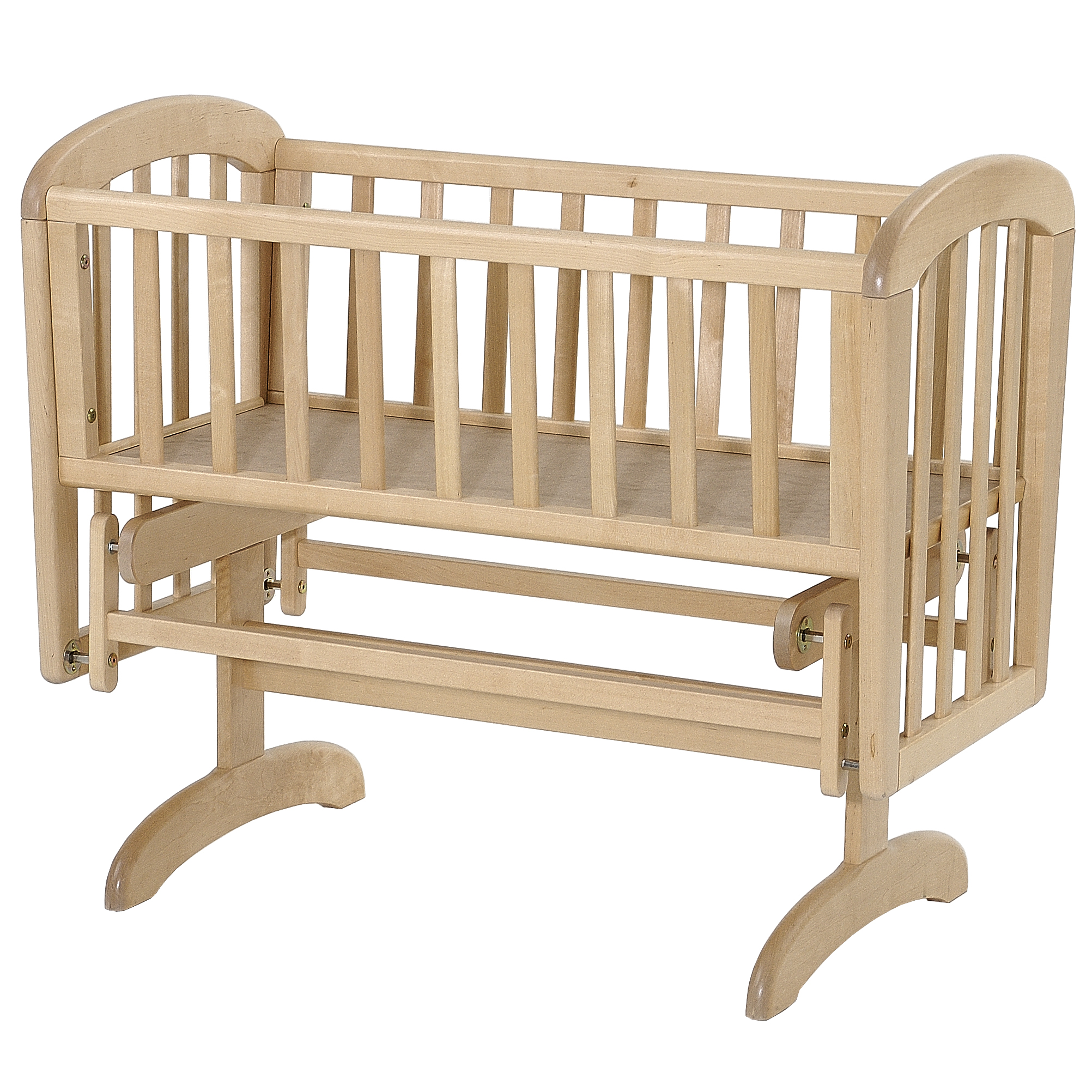 Baby cribs rocking - Babies Sleep Well In Cribs Initially As They Provide A Small Sleeping Environment Which Helps Them To Feel Secure The Rocking Or Gliding Action Of A Crib