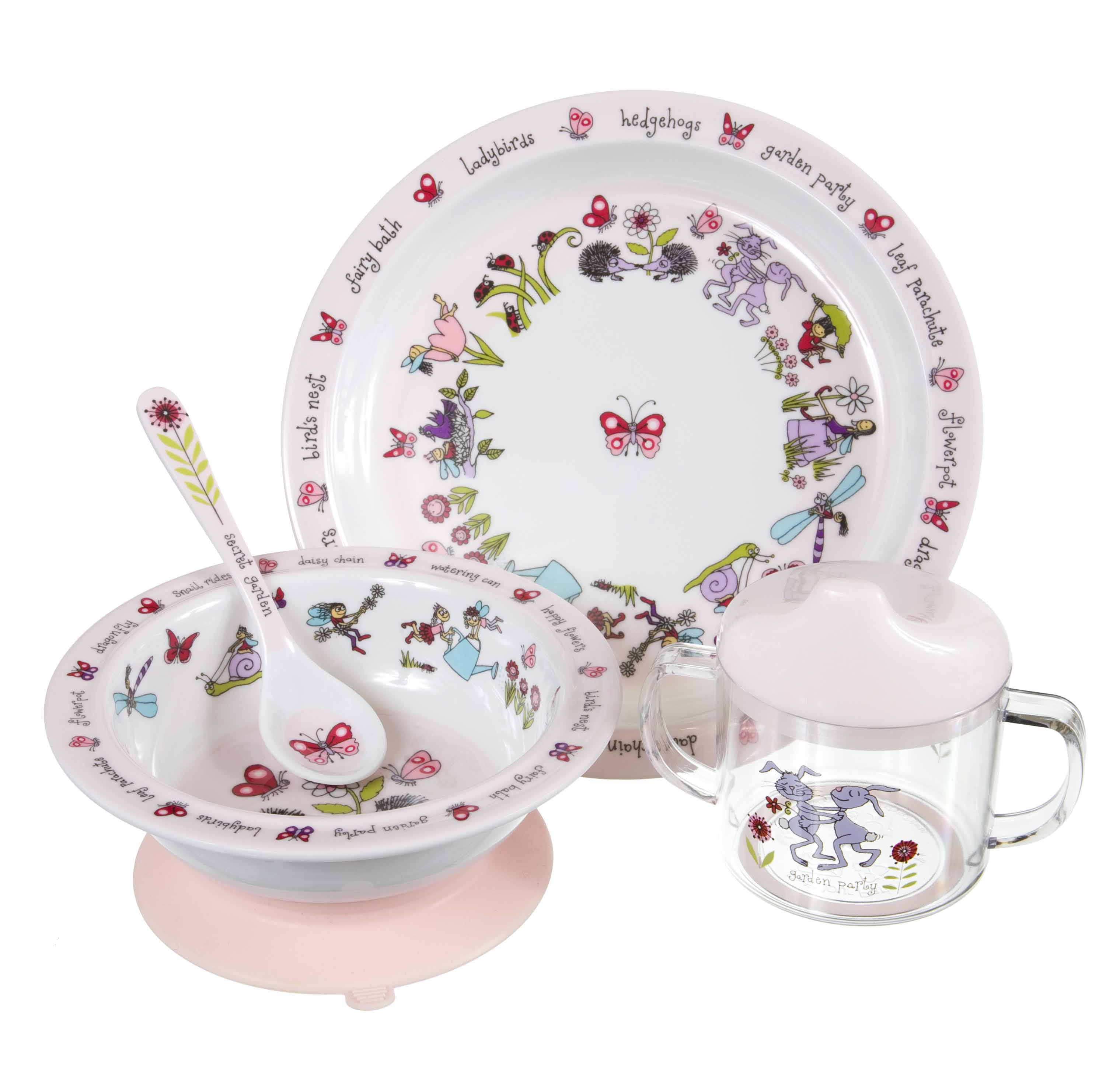 Win Tyrell Katz Toddler Dining Sets Compartment Trays