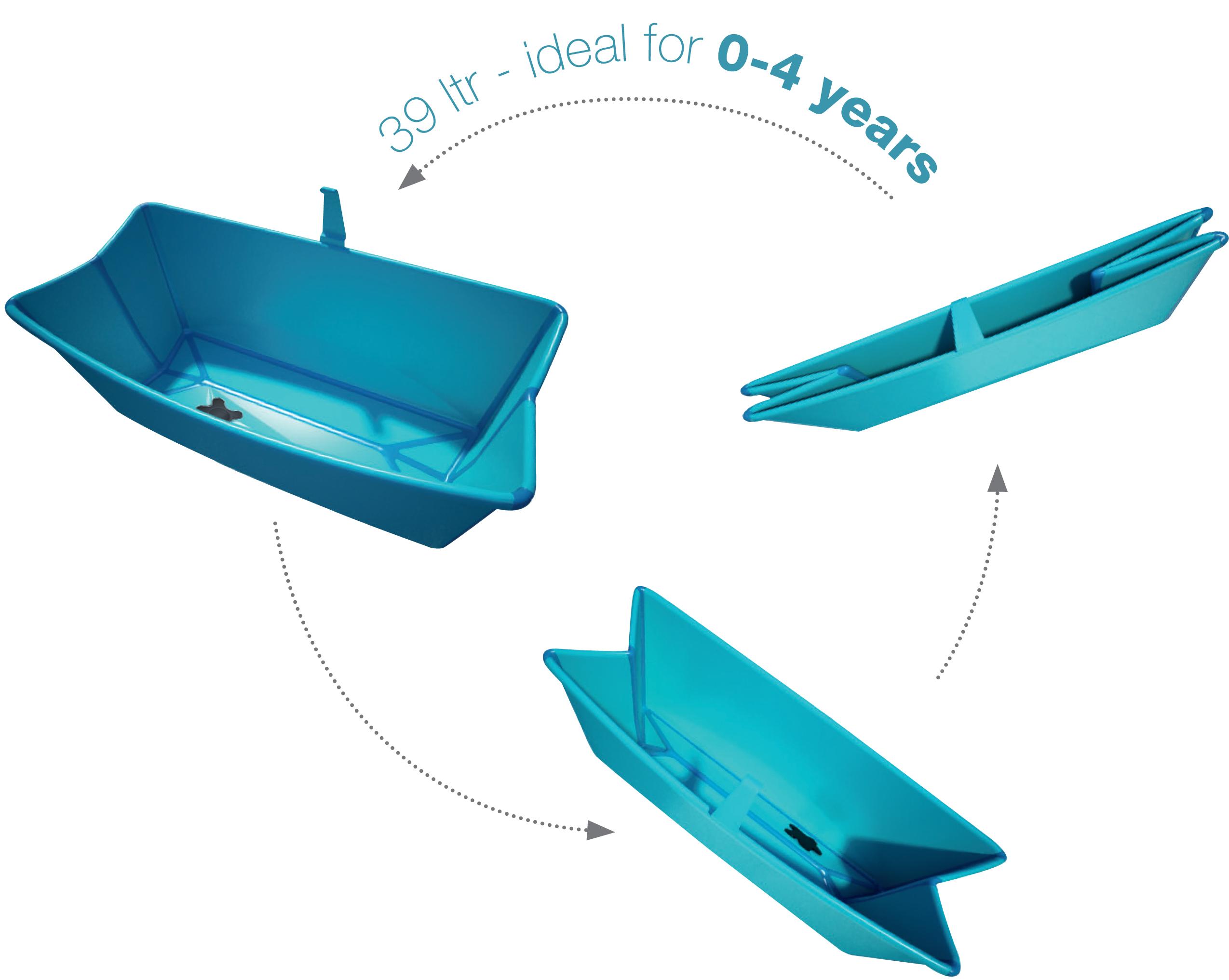 FlexiBath – a new concept in baby baths