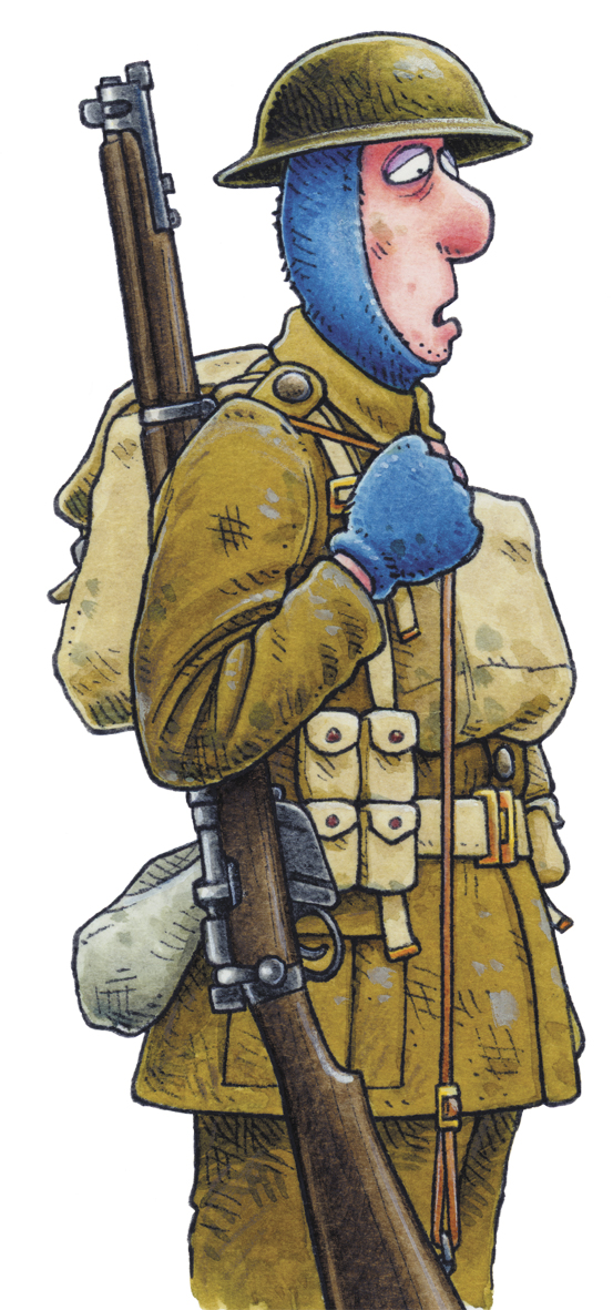 Terrible Trenches soldier
