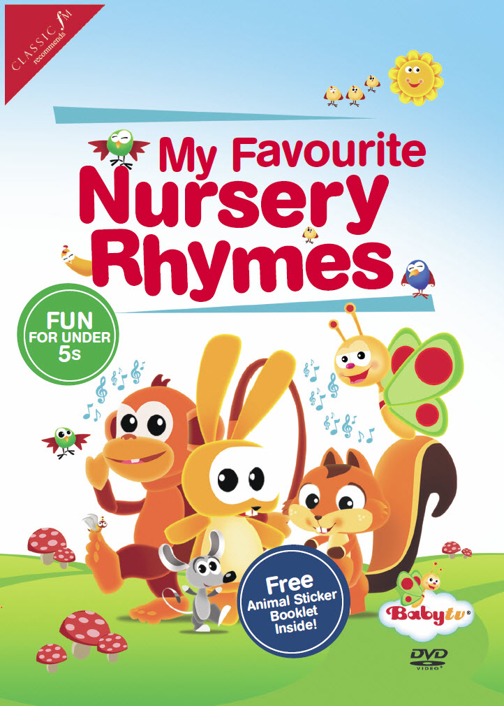 My Favourite Nursery Rhymes Dvd Paing Without Tears