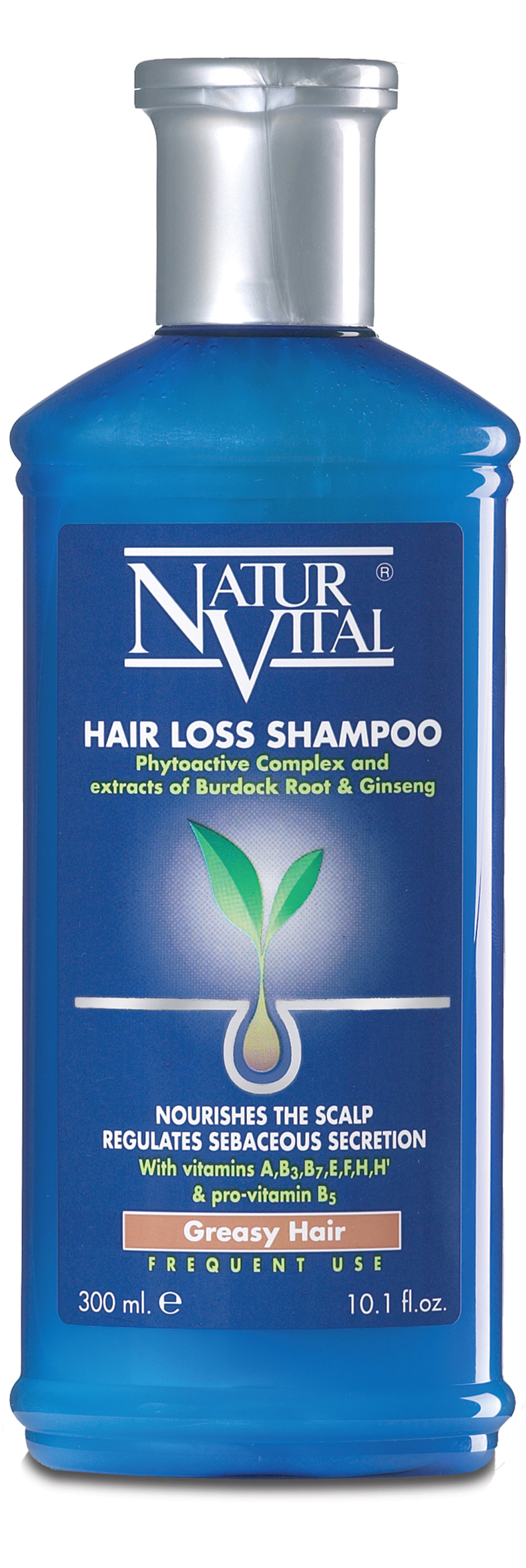 NaturVital hair loss shampoo