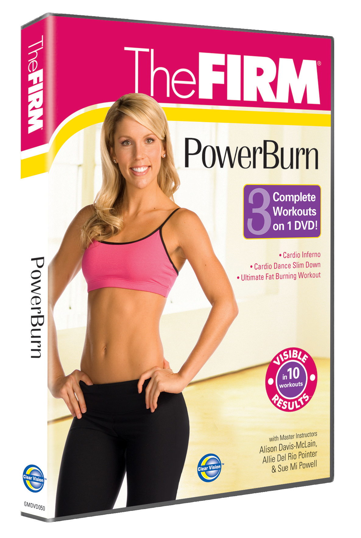 Clearvision fitness DVDs – winners