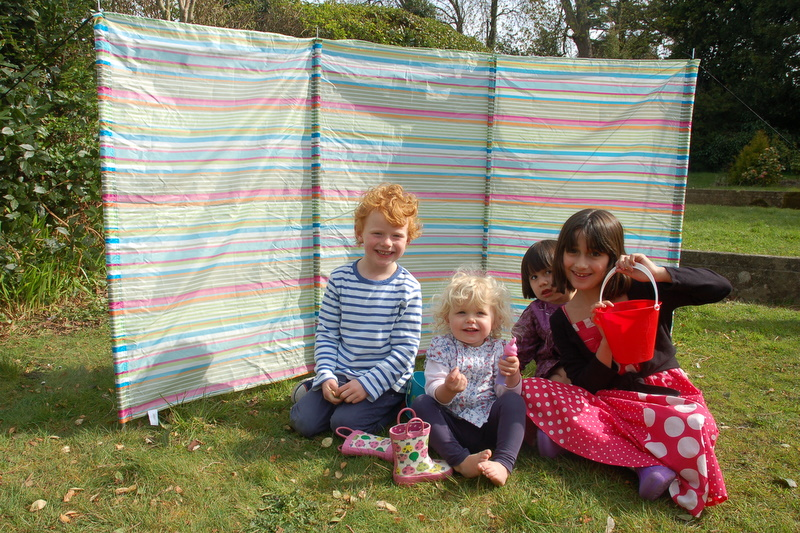 B&Q windbreak