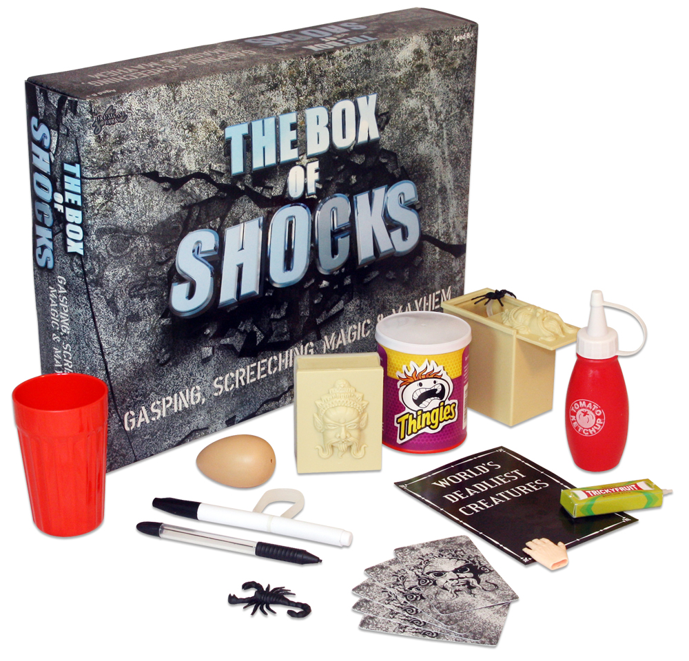 Competition to win BOX OF SHOCKS from Drumond Park