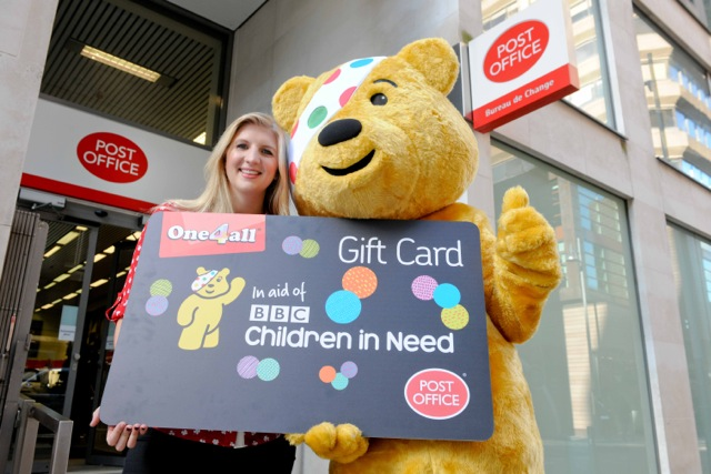One4all Gift card supporting Children in need