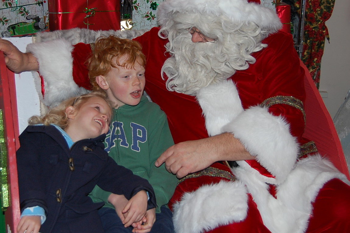 Santa at Drayton Manor