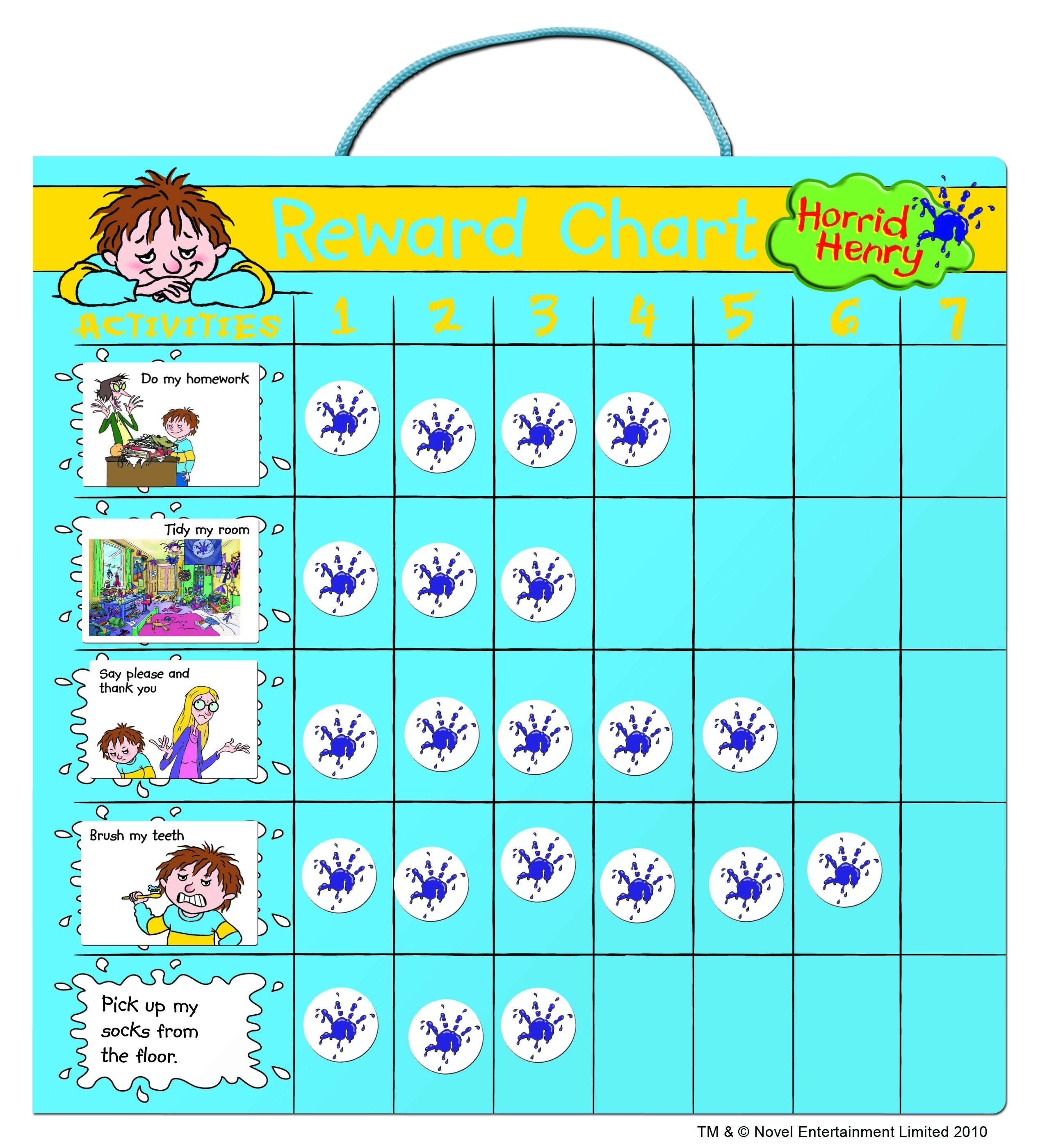Horrid Henry Reward Charts - Parenting Without Tears