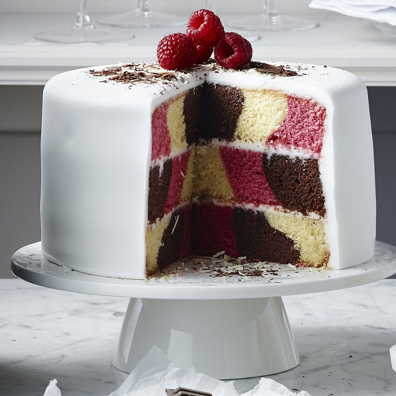 All Occasion Checkerboard Cake Pan Set