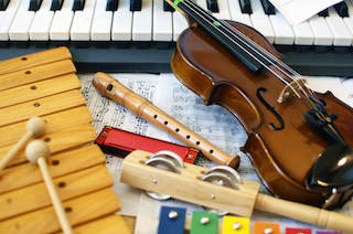 mini musical instruments