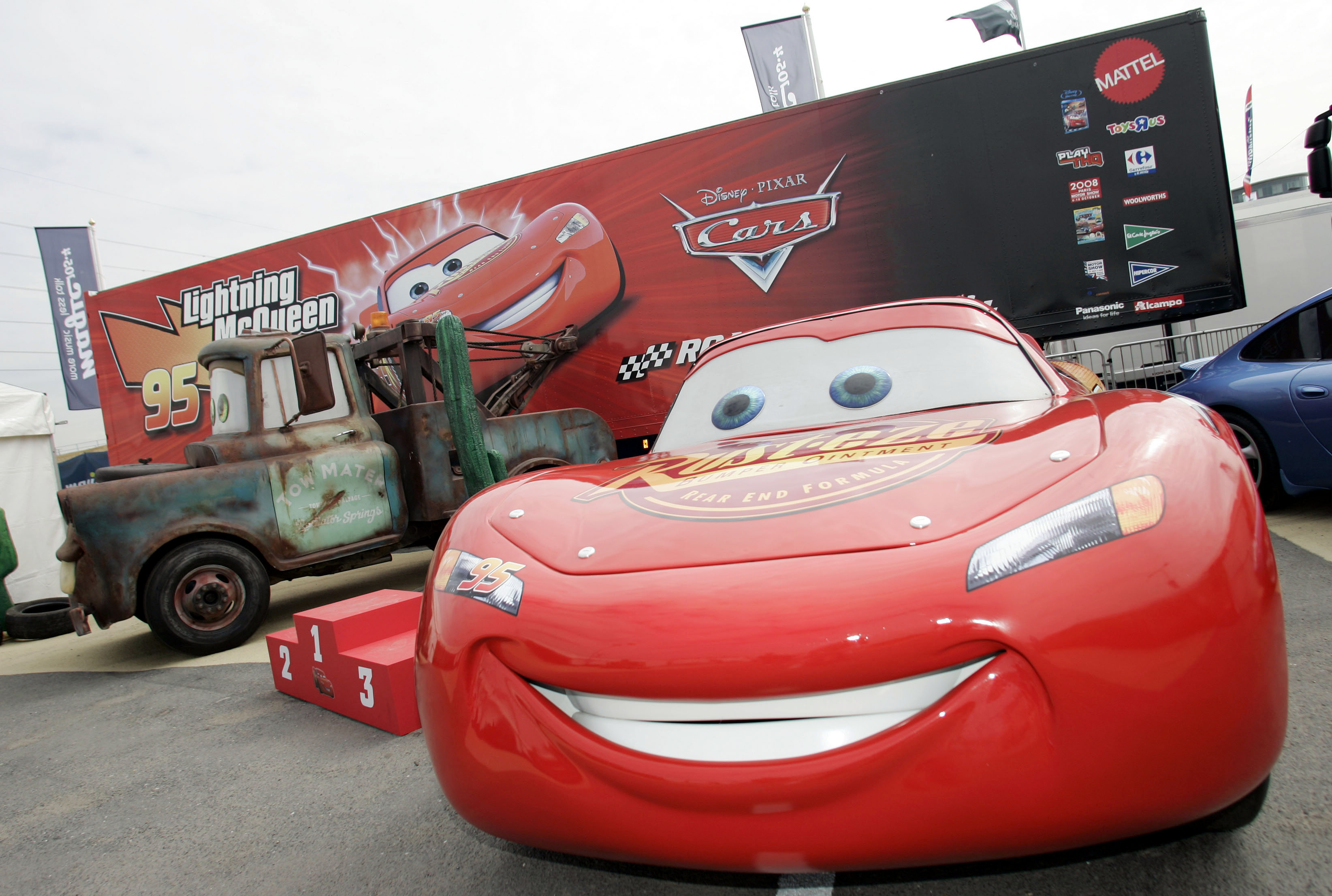 Pixar Cars Face Painting