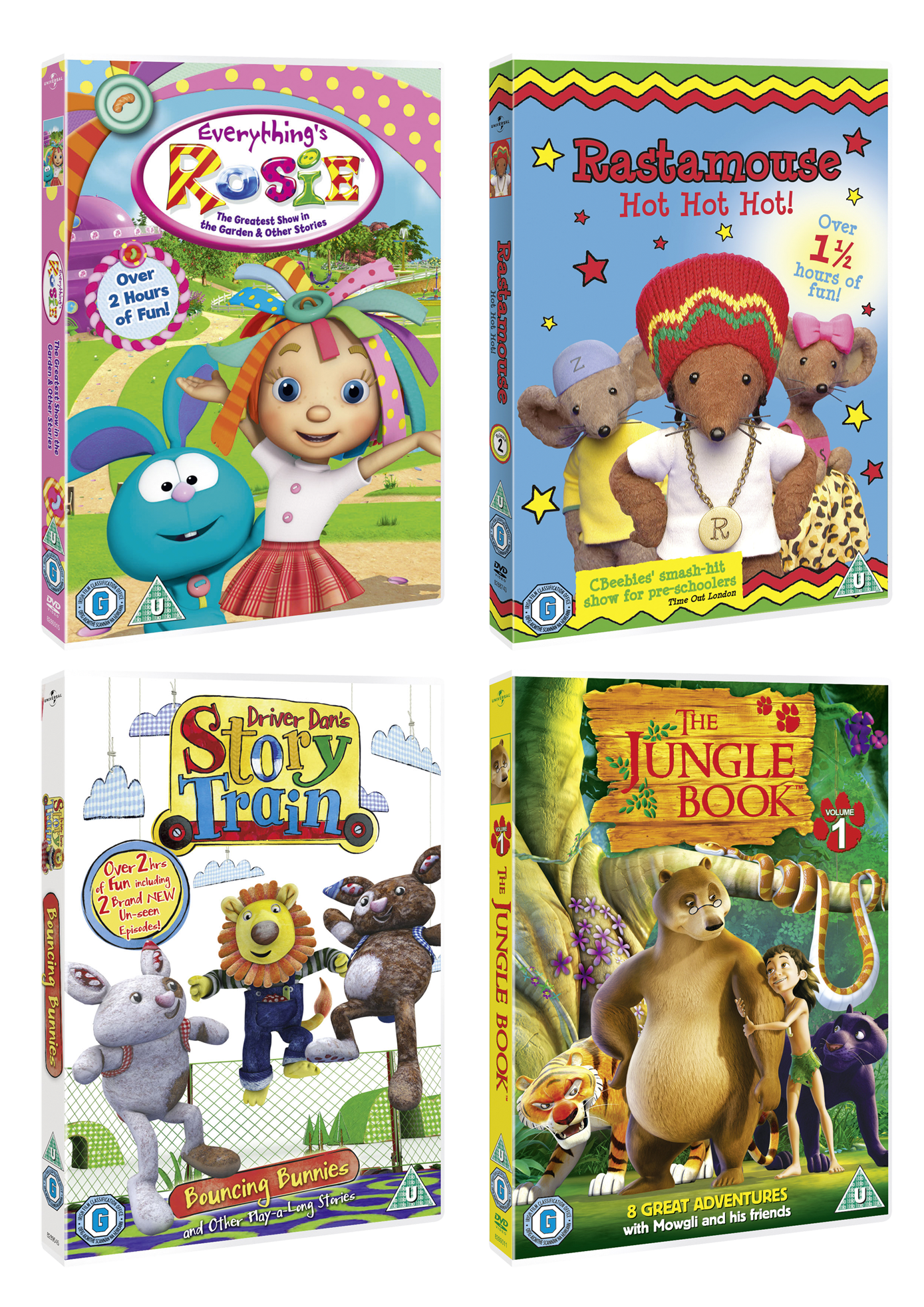 Win Universal S Collections Of Children S Dvds Parenting Without Tears