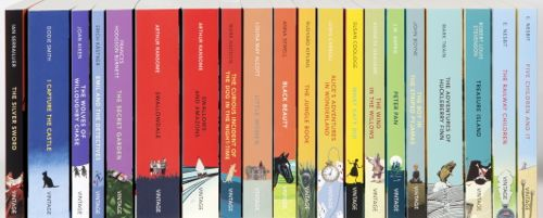 Vintage Children's Classics collection spines by Random House ...